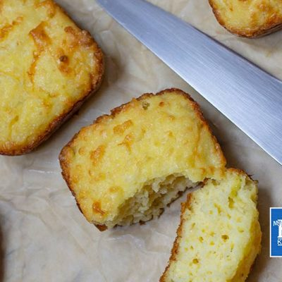 """Keto Biscuits Recipe – """"Low Carb Buttery & Fluffy""""- Easy Three Cheese!"""