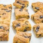 Keto Blondies Chocolate Chip Peanut Butter Brownies Recipe