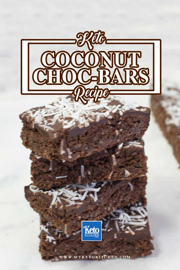 Keto Coconut Chocolate Cake Bars Ingredients