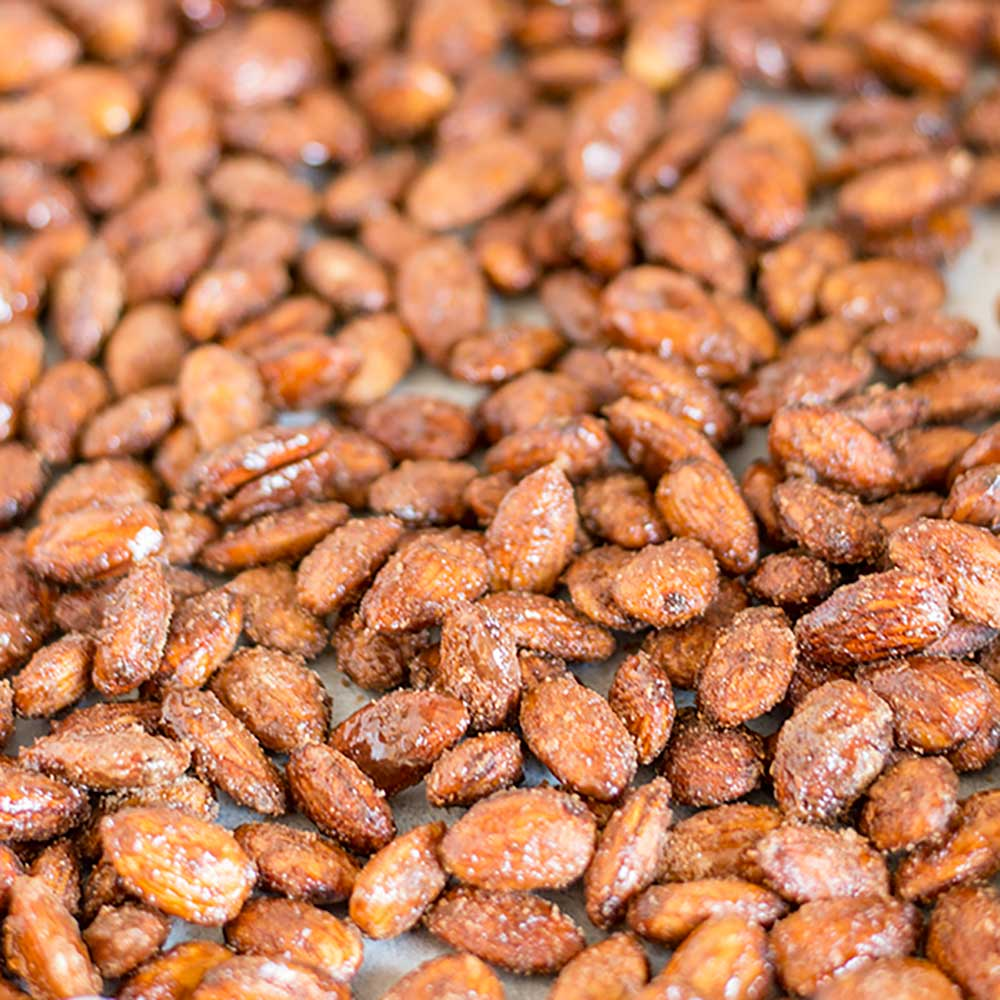 Sweet Sugar Free Candied Almonds