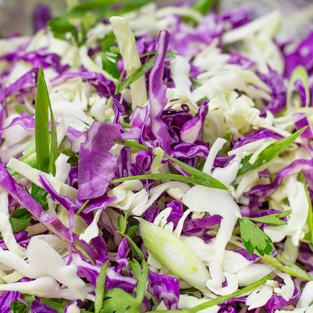 How to make Low-carb Keto Coleslaw