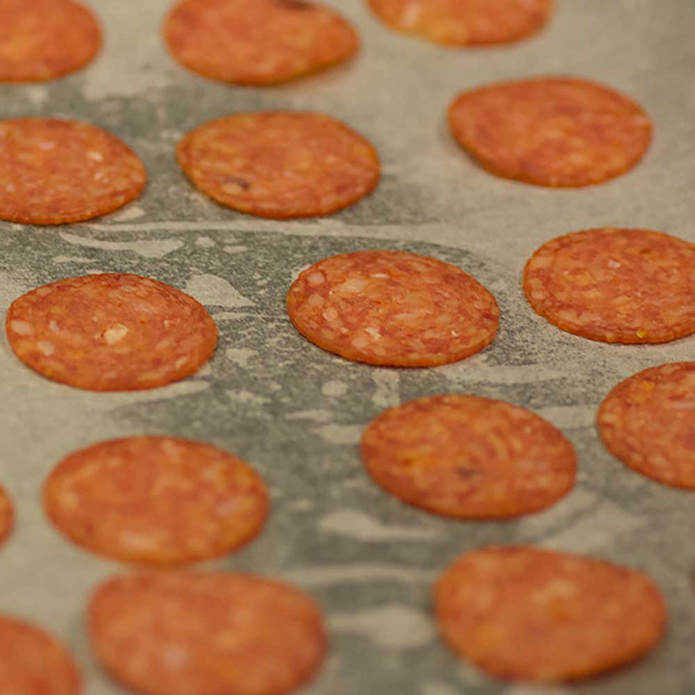 How to make Keto Pepperoni Chips