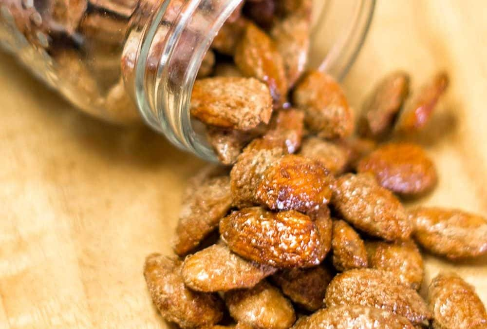 Keto Candied Almonds Snack – Slow Cooker recipe