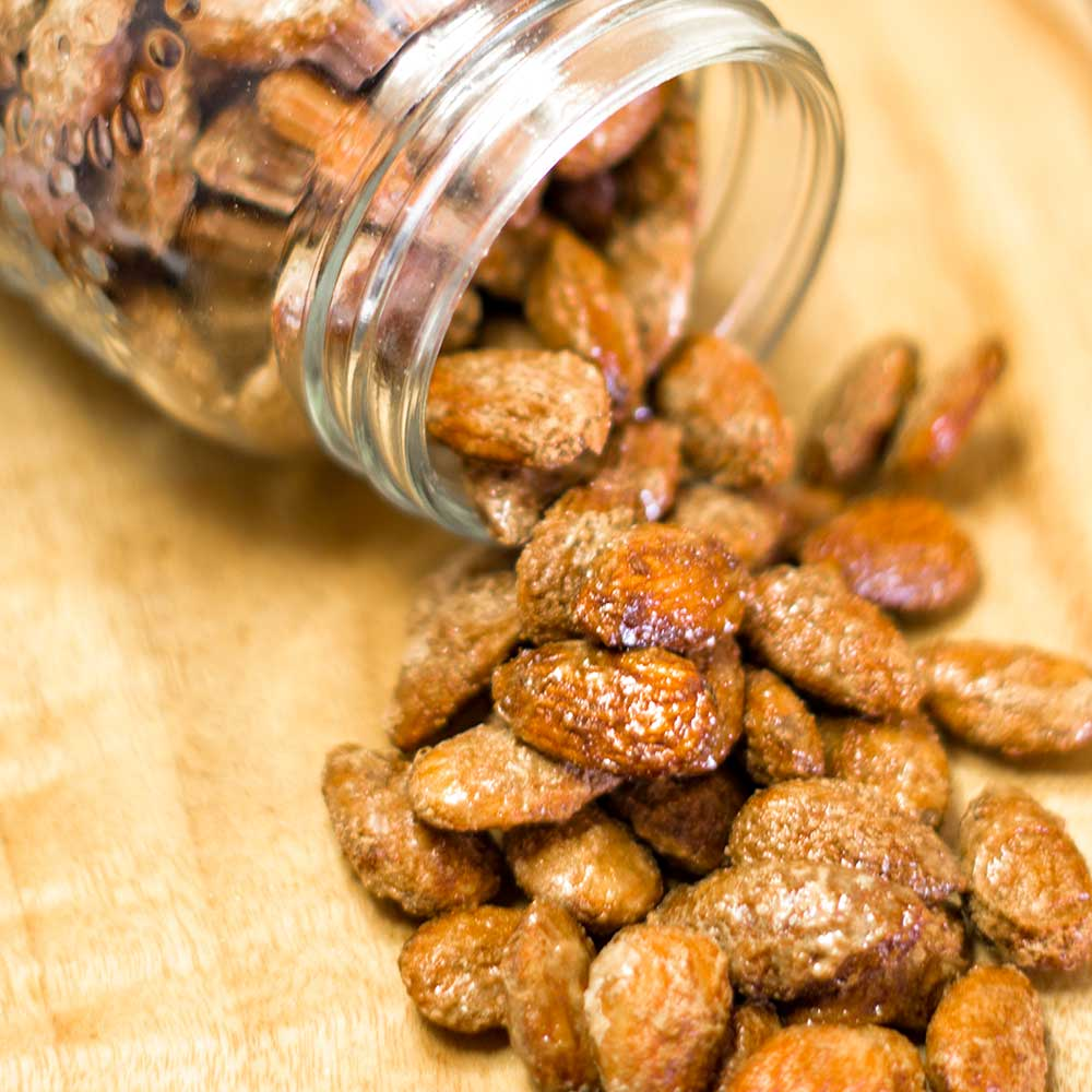 Keto Candied Almonds - Low- Carb Snack Recipe
