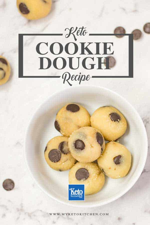 Keto Chocolate Chip Cookie Dough Recipe