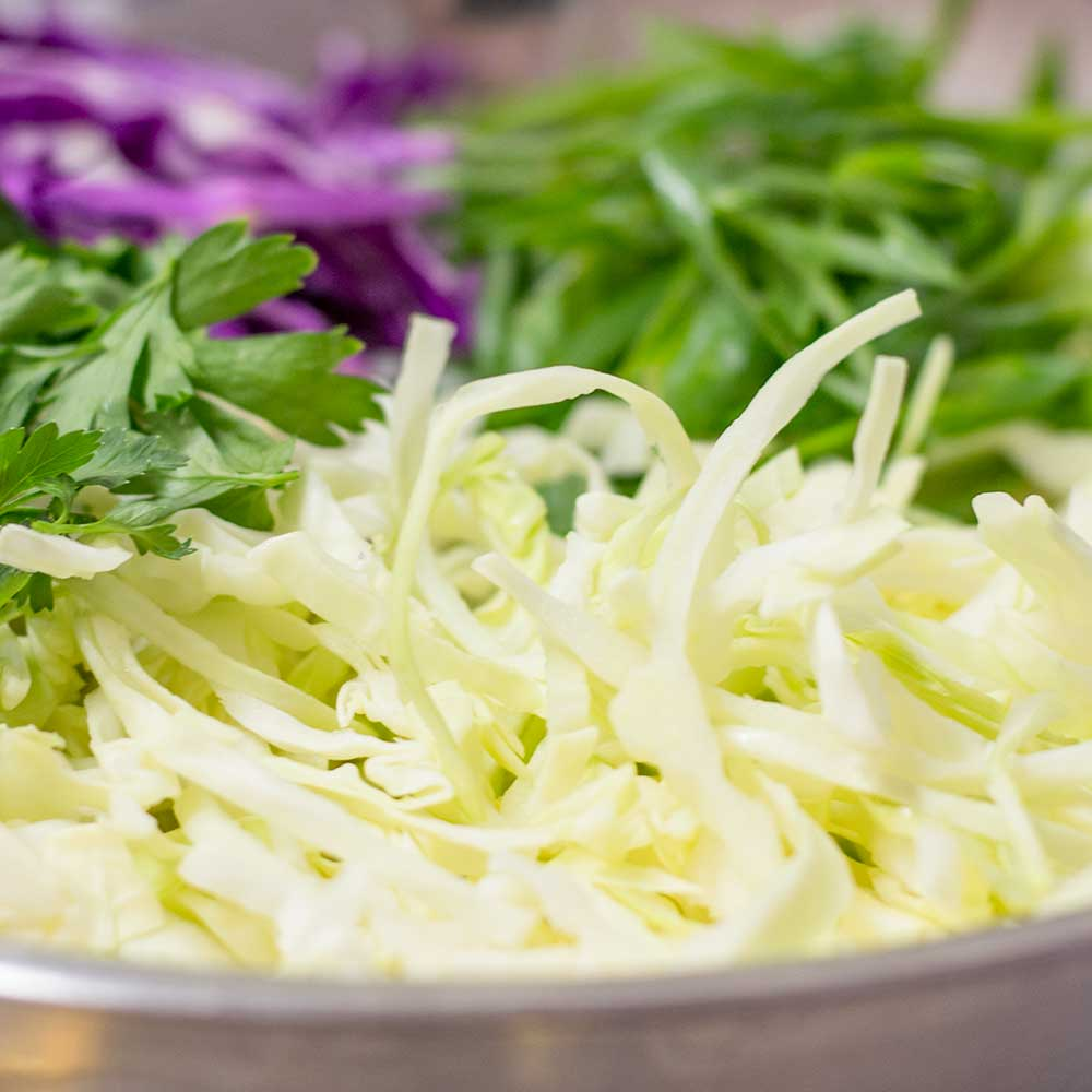 Keto Coleslaw Ingredients