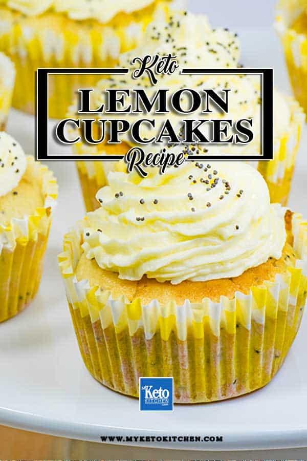 Moist Keto Lemon & Poppyseed Muffins