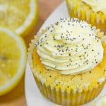 Keto Lemon Poppyseed Muffins Recipe. This easy cupcake recipe is a delicious sugar free and gluten free treat. They are sweet, zesty and healthy.