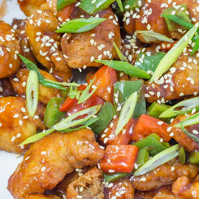 Keto Asian Sweet and Sour Pork Recipe