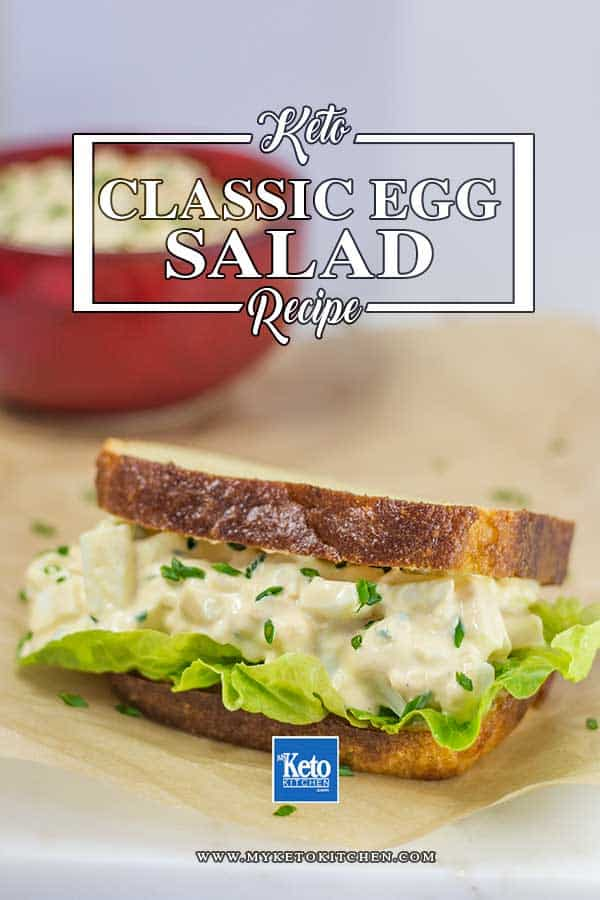 Low Carb Egg Salad Recipe