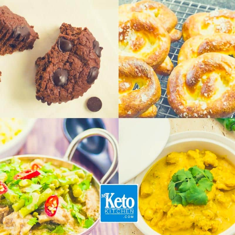 Keto Recipes all Low-Carb and Ketogenic