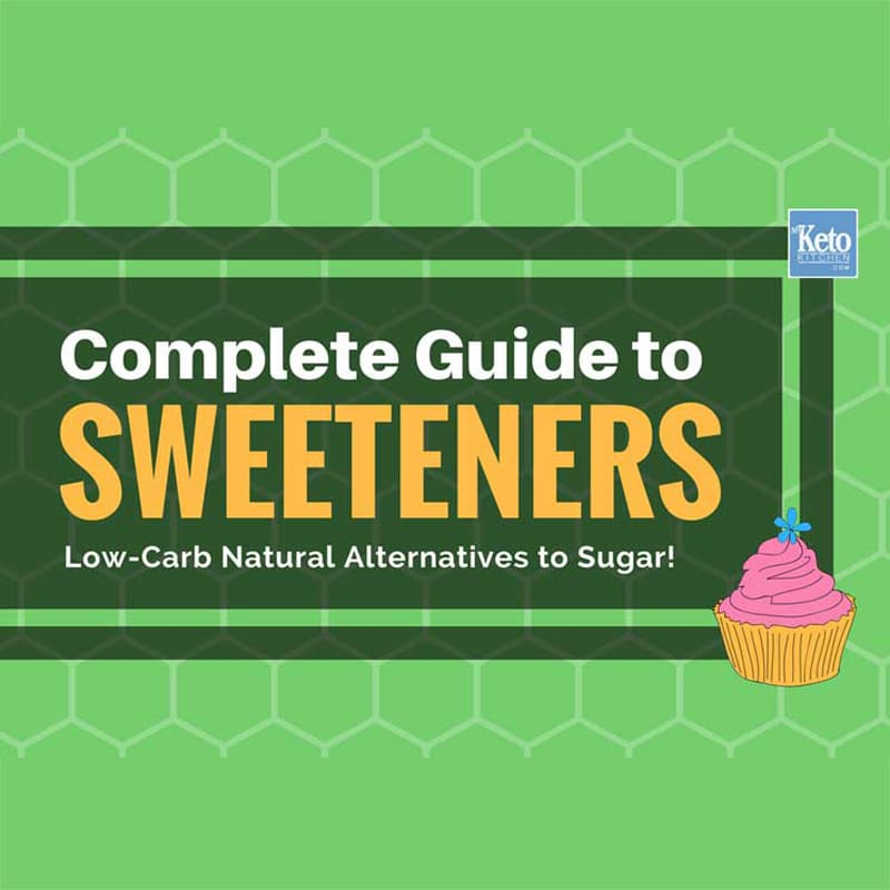 Best Keto Sweeteners for Low-Carb Diets Natural Sugar Substitute