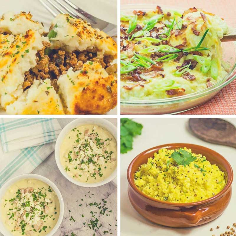 Our best Keto Cauliflower Recipes