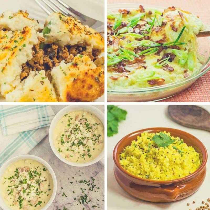 Our best Keto Cauliflower Recipes