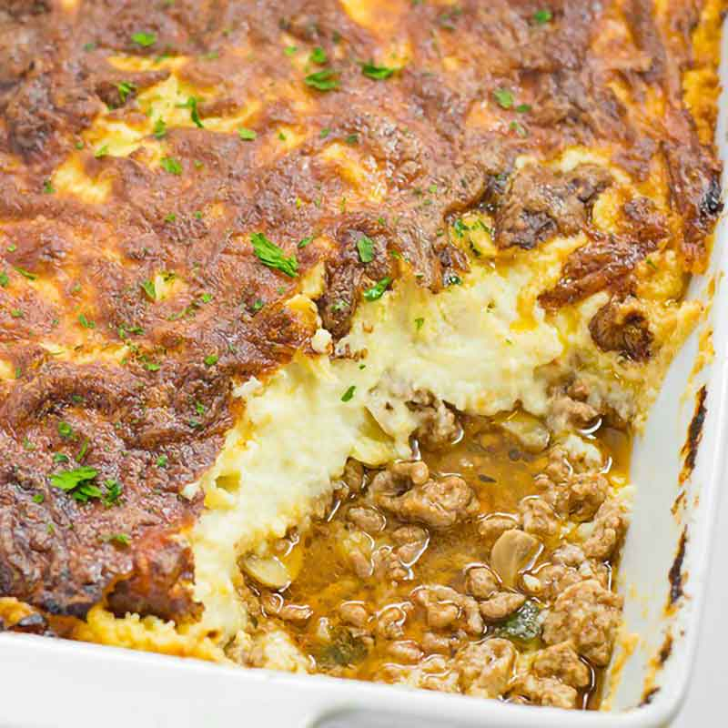 Cauliflower Shepherds Pie
