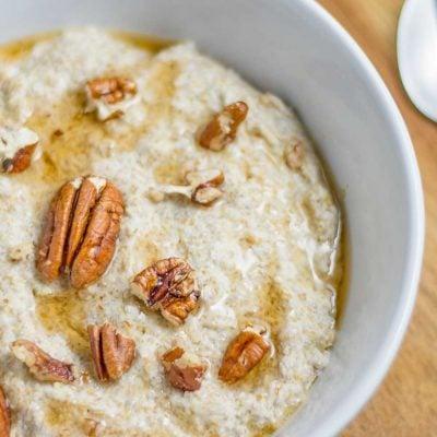 "Keto Oatmeal – ""No Oats"" Low Carb Porridge Recipe"