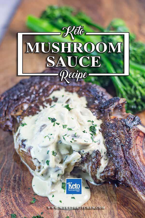 Low Carb Creamy Mushroom Sauce