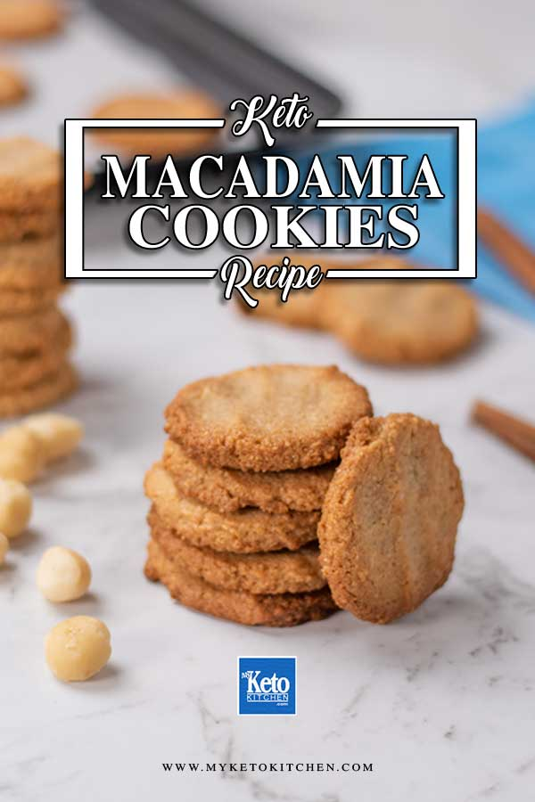 Low Carb Macadamia Cookies