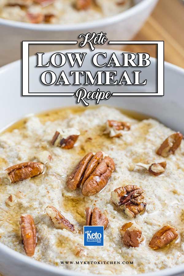 Keto Oatmeal Porridge Substitute - Super Healthy with Omega 3s