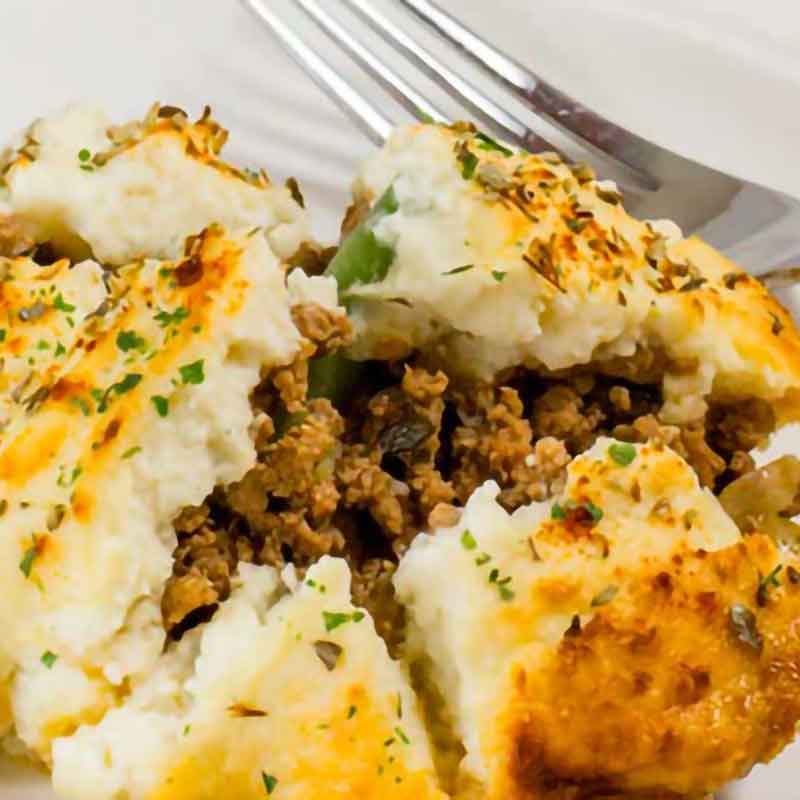 cauliflower cottage pie recipe