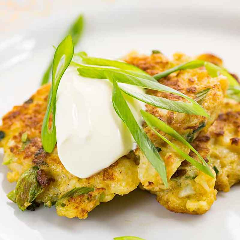 Cauliflowe Latkes Recipe
