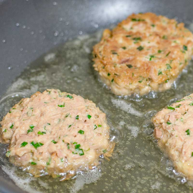 How to make Keto Tuna Cakes