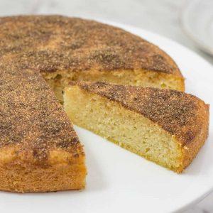 Keto Cinnamon Tea Cake