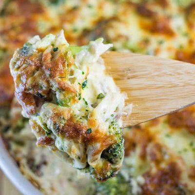 Keto Cheese Chicken Broccoli Casserole