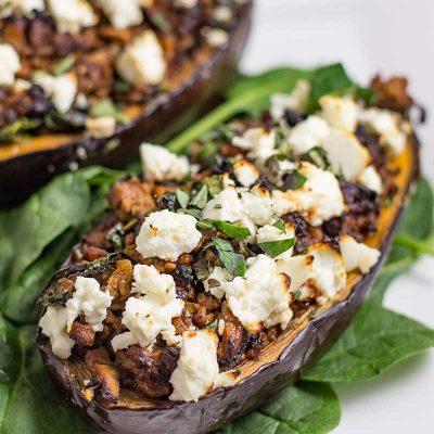 "Keto Lamb Stuffed Eggplant Recipe – ""Quick & Meaty"""