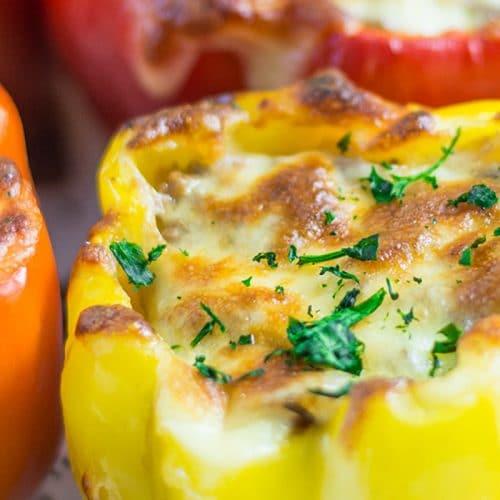 Keto Stuffed Peppers Recipe