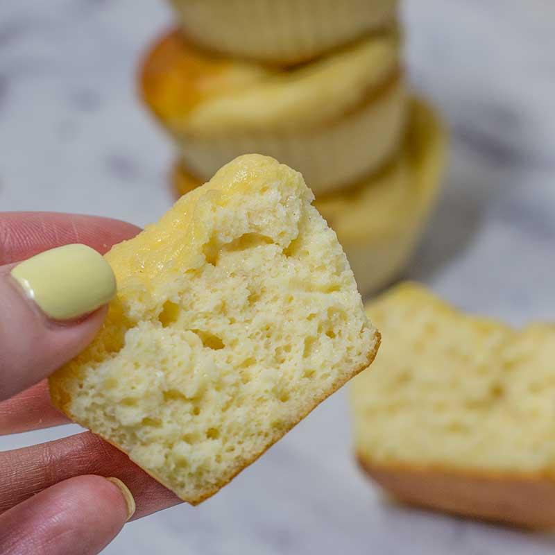 Keto Vanilla Muffins Recipe