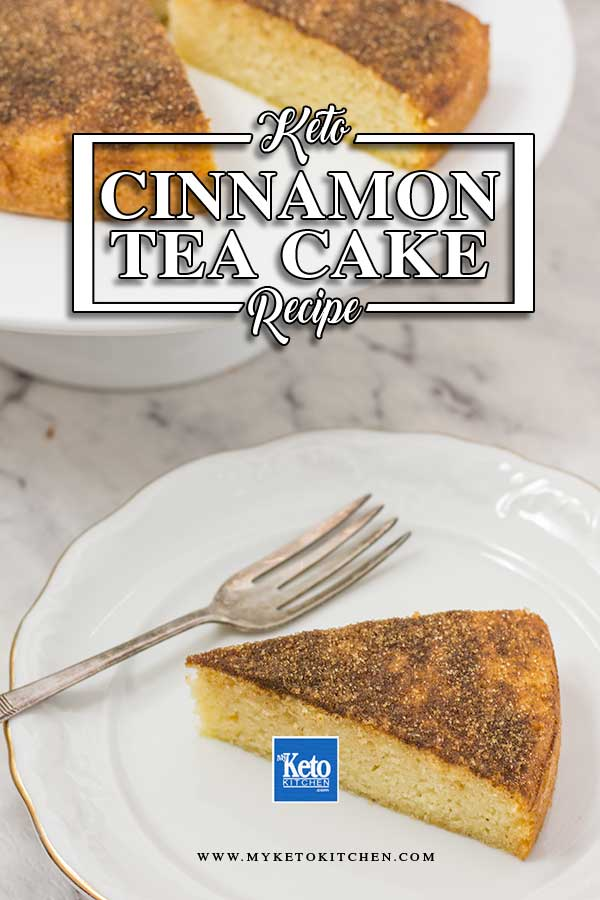 Low Carb Cinnamon Tea Cake Recipe