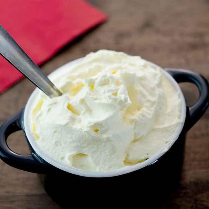 Whipped Cream Dessert Recipe