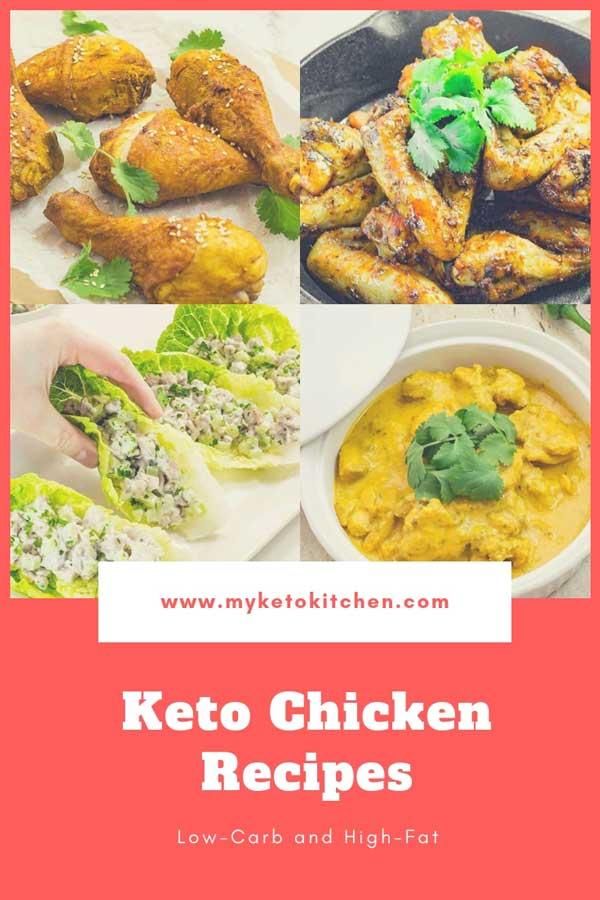 Keto Chicken Recipes List