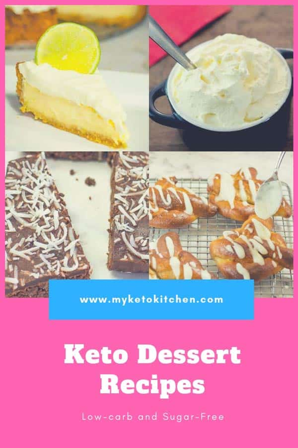 Best Keto Desserts Recipes List