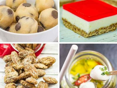 Keto Snacks List – Our Best Recipes & Other Great Snacking Ideas