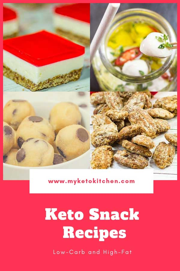 Keto Snacks Recipes List