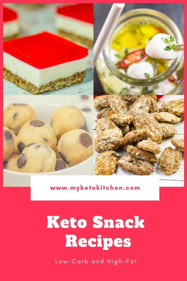 Keto Snacks Recipes List
