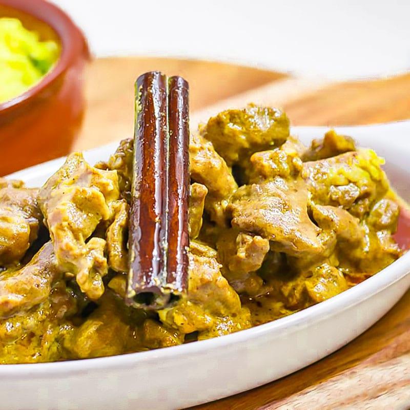 keto indian lamb korma recipe
