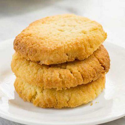 Keto Shortbread Cookies Recipe Vanilla Flavor – Easy to Make at Home