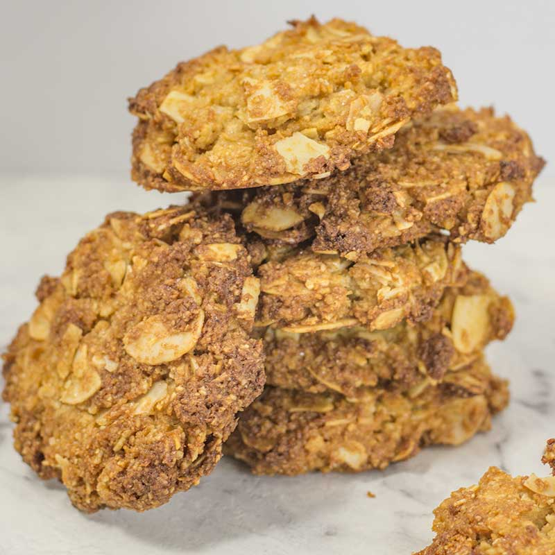 How to make Keto Anzac Cookies