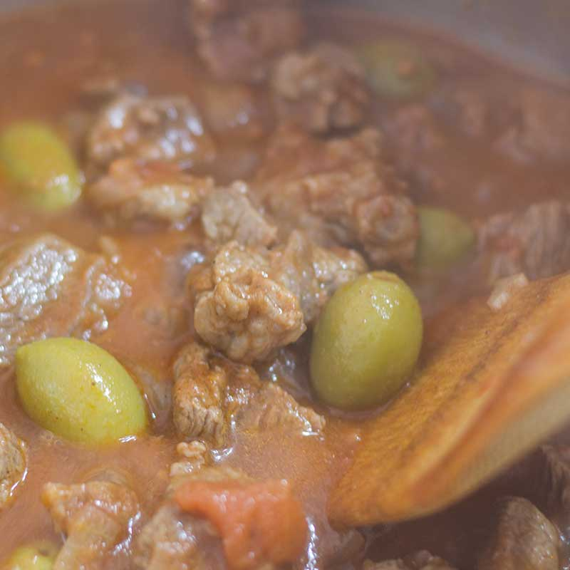 Keto Beef Tagine - Low Carb Moroccan Stew Recipe