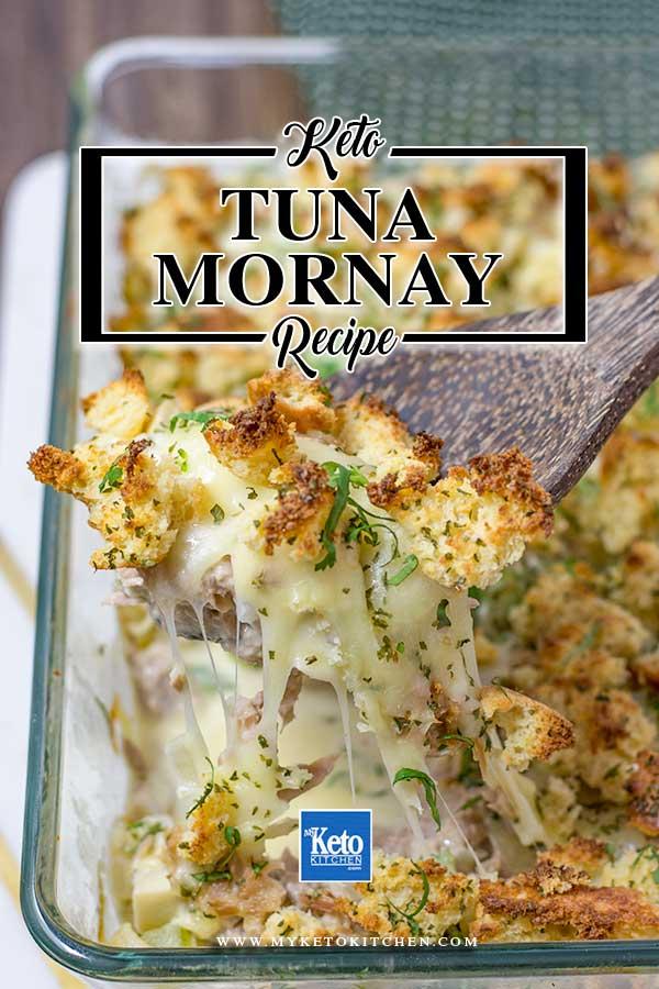Keto Tuna Mornay Recipe Low Carb Quot Cheesy Amp Creamy Quot Casserole
