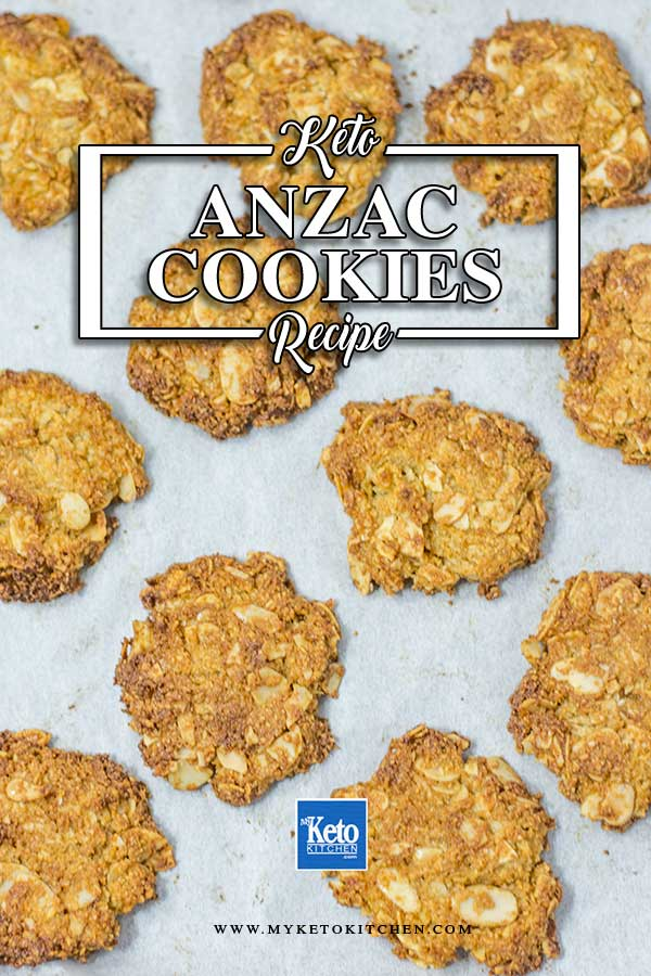 Low Carb Anzac Cookies