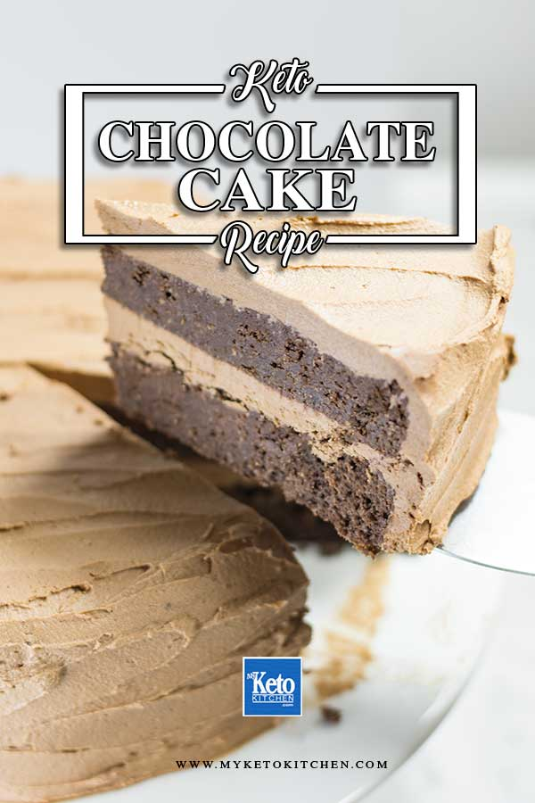 Low Carb Fudgy Chocolate Cake