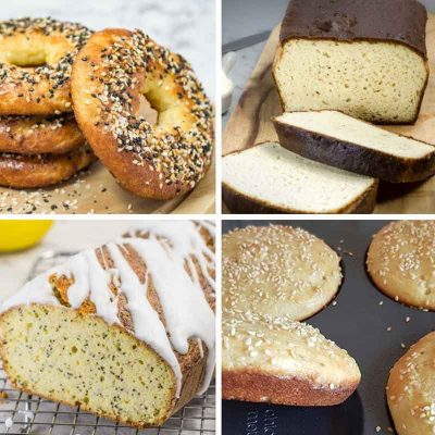 Our Best Keto Bread Recipes – Lots of Versatile, Soft Fluffy & Aromatic Low-Carb Creations
