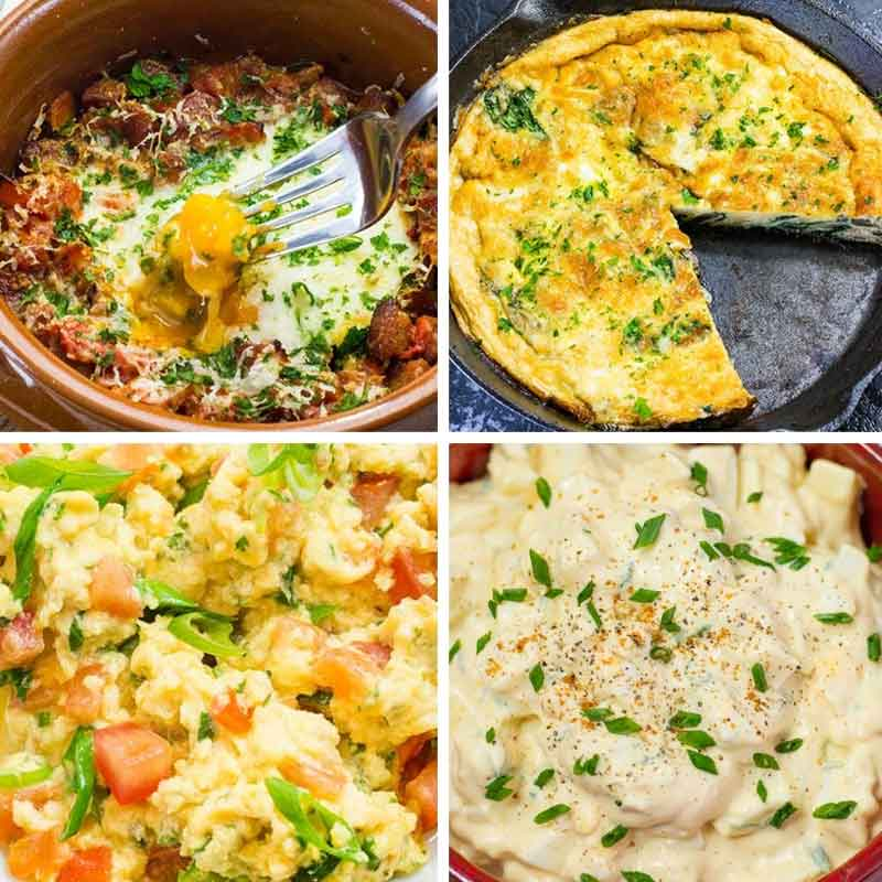 "17 Best Keto Egg Recipes - Low Carb ""Healthy Fats & Aminos"" - YUMMM!"