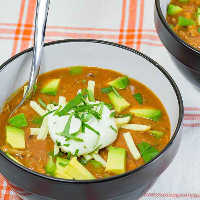 Best Keto Mexican Taco Soup Recipe
