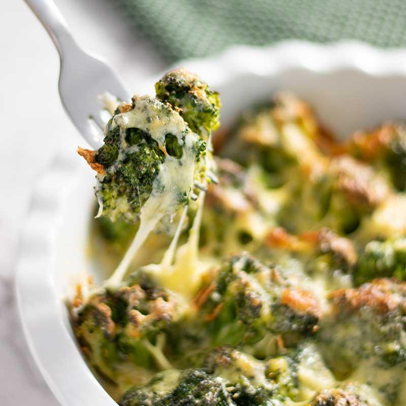 How to make Keto Broccoli Cheese Casserole