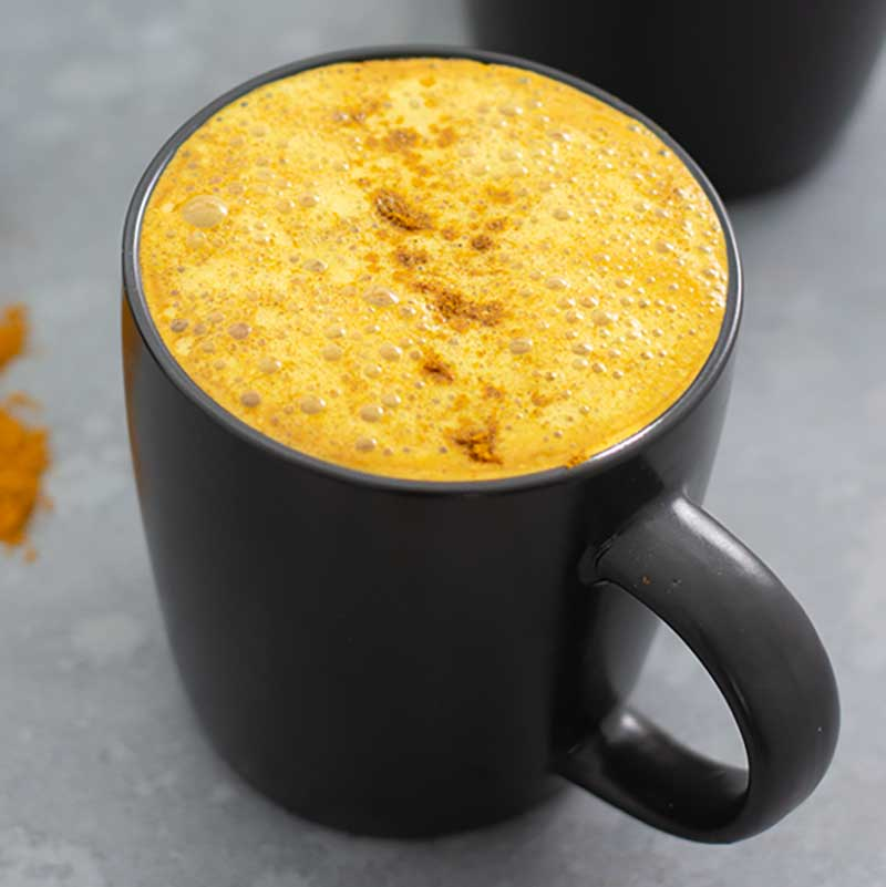 How to make Keto Turmeric Latte